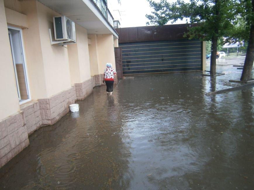 Как Димитров сегодня утопал в дождевых водах (ФОТОФАКТ) (фото) - фото 3