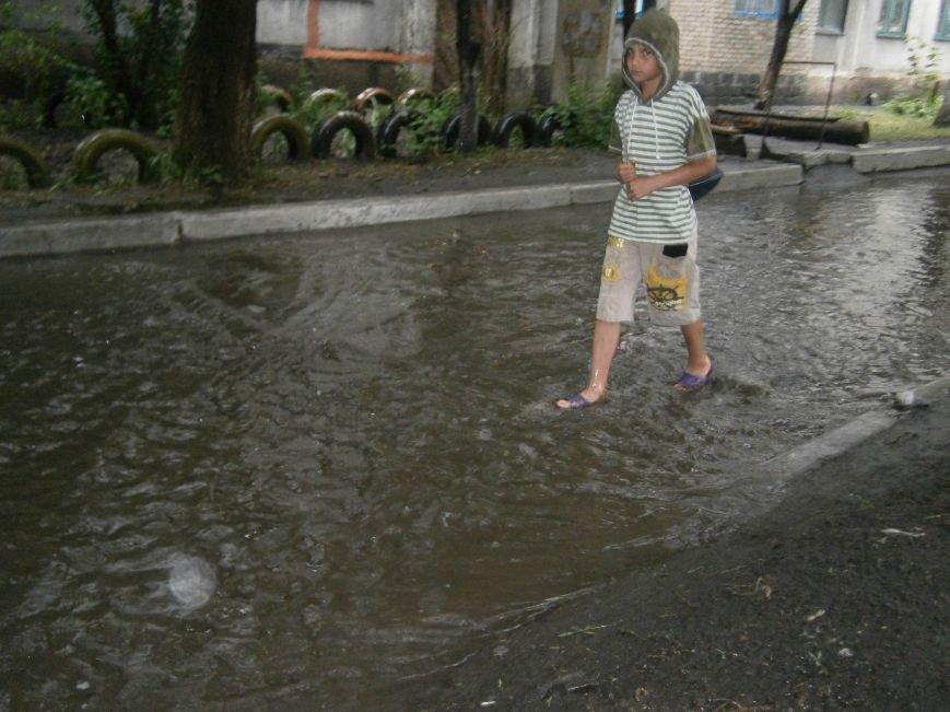 Как Димитров сегодня утопал в дождевых водах (ФОТОФАКТ) (фото) - фото 2