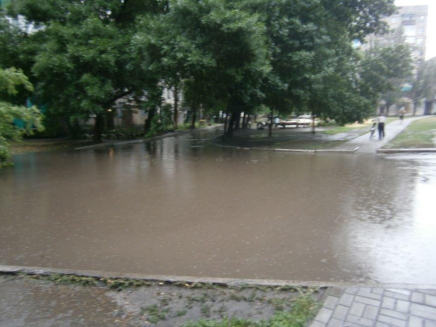 Как Димитров сегодня утопал в дождевых водах (ОБНОВЛЕНО) (фото) - фото 3