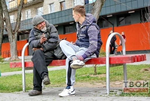 Гродненский бездомный: «Мог уехать во Францию, но отказался,надеясь вернуть семью» (фото) - фото 1