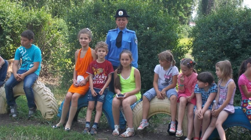 Красноармейские правоохранители встретились с детьми в пришкольных лагерях, фото-4