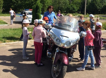 У Львові до школярів завітали правоохоронці та байкери (ФОТО) (фото) - фото 1