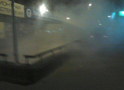 Ночью в Харькове в переходе станции метро обнаружили дымовую шашку (ФОТО), фото-2