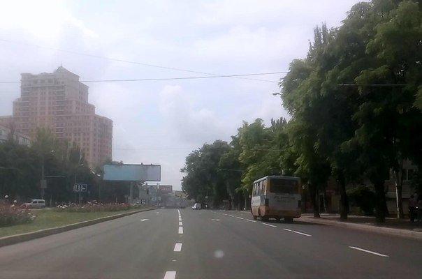 В Донецке ограничено движение общественного транспорта (ФОТО) (фото) - фото 1