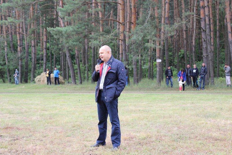 відкрив фестиваль тракторних перегонів Олег Васецький