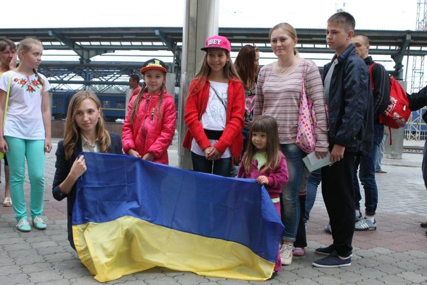 Первая группа детей военнослужащих АТО отправилась на отдых в Венгрию, фото-1