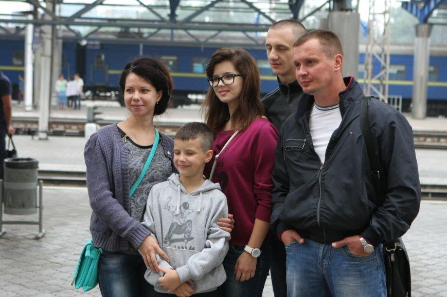 Первая группа детей военнослужащих АТО отправилась на отдых в Венгрию, фото-2