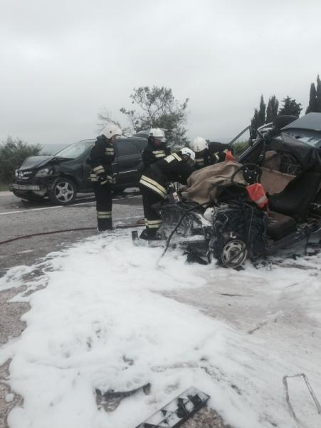 В тройной аварии на крымской трассе один человек погиб, четверо травмированы (ФОТО), фото-2