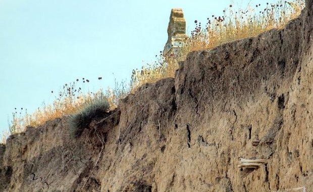В Одесской области старинное кладбище сползает в лиман: из обрыва торчат гробы и кости (ФОТО) (фото) - фото 1
