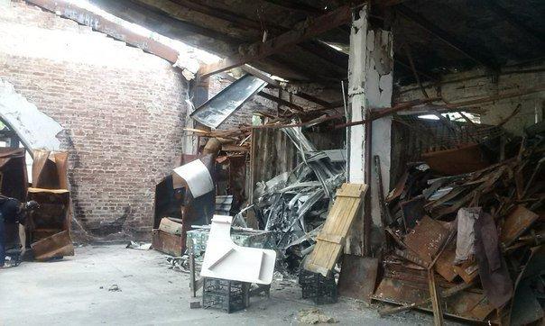 Что осталось от рынка на пр.Партизанский в Донецке после обстрелов (ФОТО) (фото) - фото 7