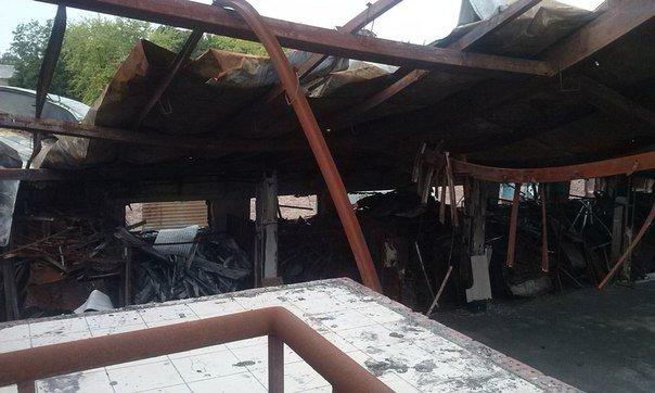 Что осталось от рынка на пр.Партизанский в Донецке после обстрелов (ФОТО) (фото) - фото 8