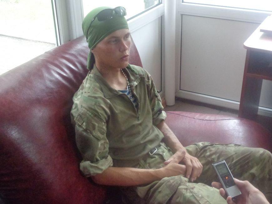Боец добровольческого батальона «Карпатская Сечь» Александр Шаповал: «Когда война закончится, я продолжу служить Украине» (фото) - фото 3