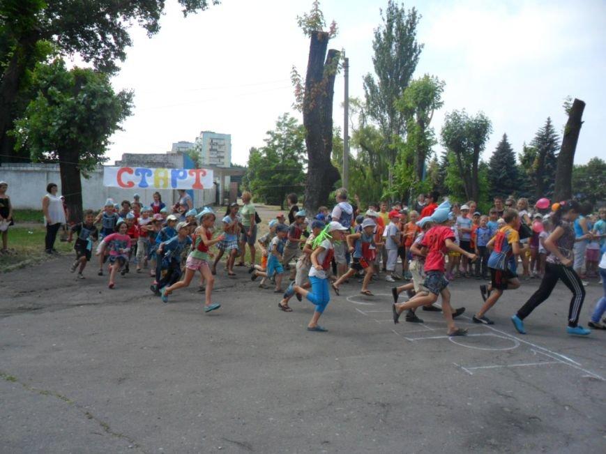 Димитровские школьники отпраздновали Международный олимпийский день в спортивных забегах (ФОТО), фото-2