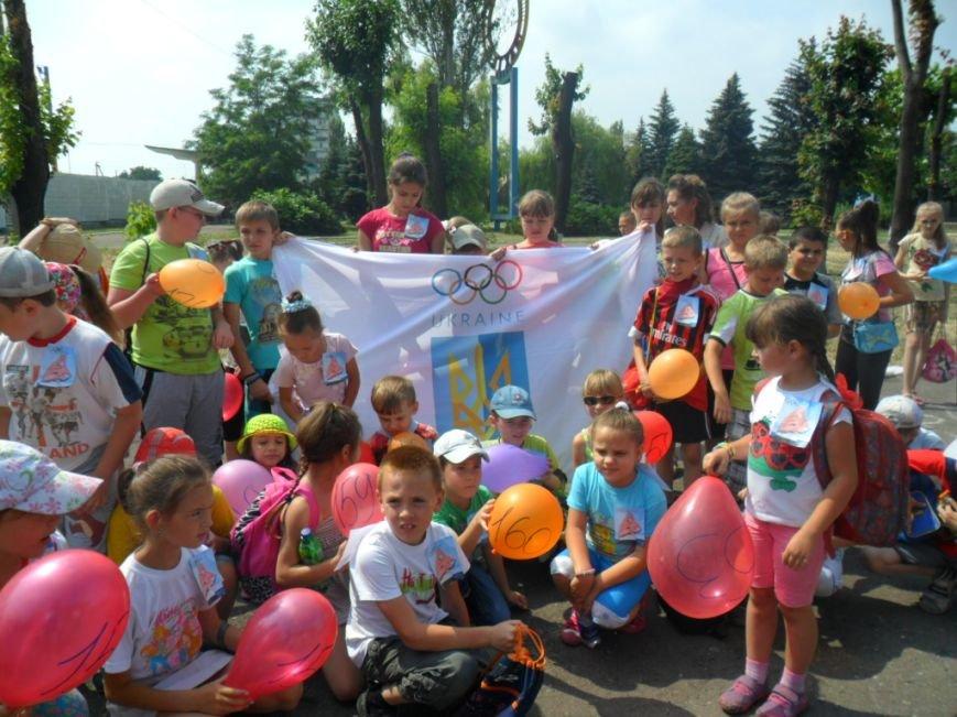 Димитровские школьники отпраздновали Международный олимпийский день в спортивных забегах (ФОТО), фото-1