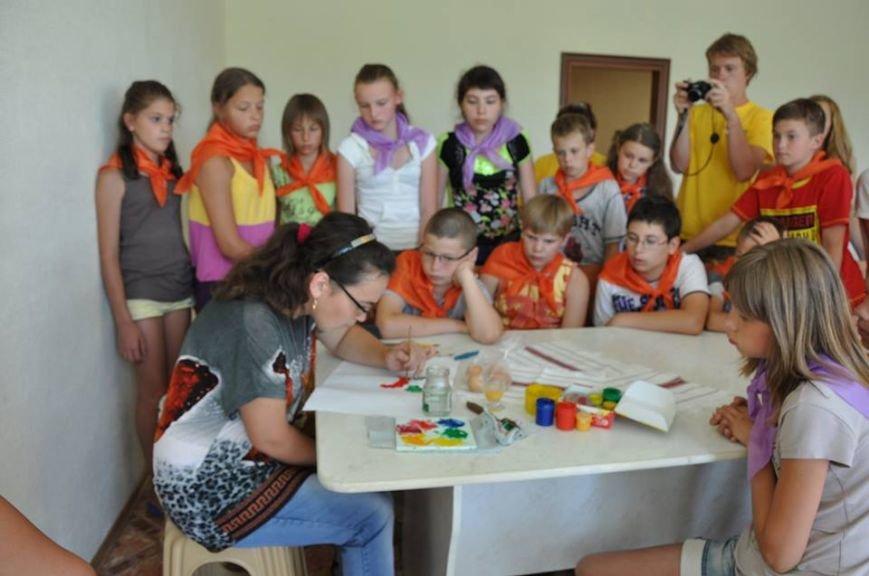 В бердянском детском лагере прошел мастер-класс, фото-2
