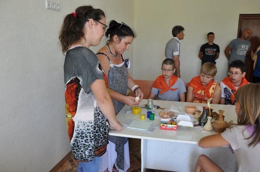 В бердянском детском лагере прошел мастер-класс, фото-3