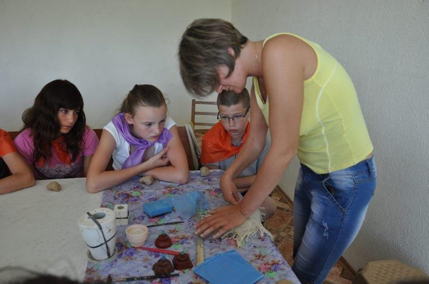 В бердянском детском лагере прошел мастер-класс, фото-1