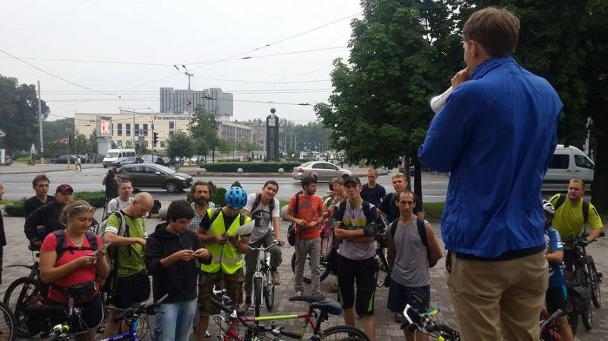Запорожцы присоединились к всеукраинской акции «Велосипедом на работу» (ФОТО), фото-4