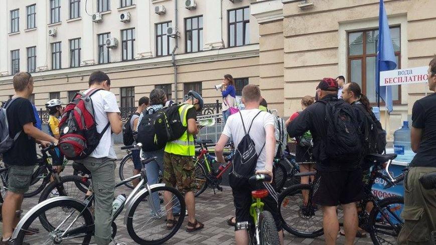 Запорожцы присоединились к всеукраинской акции «Велосипедом на работу» (ФОТО), фото-2