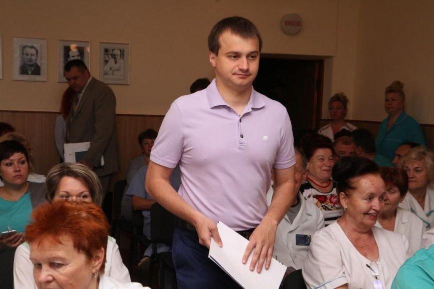 Березенко поставит вопрос о финансировании медицины перед парламентом и правительством, фото-1