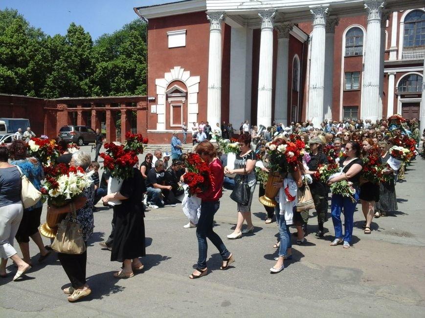 Сотни криворожан, став на колени, провели в последний путь бойца ДУКа Геннадия Дощенко (ФОТО), фото-43