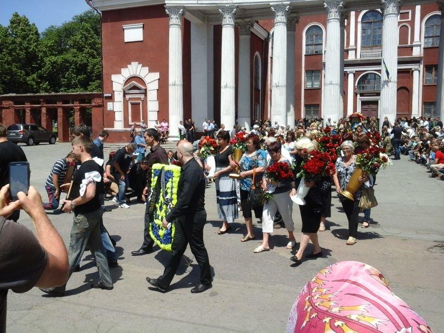 Сотни криворожан, став на колени, провели в последний путь бойца ДУКа Геннадия Дощенко (ФОТО), фото-42
