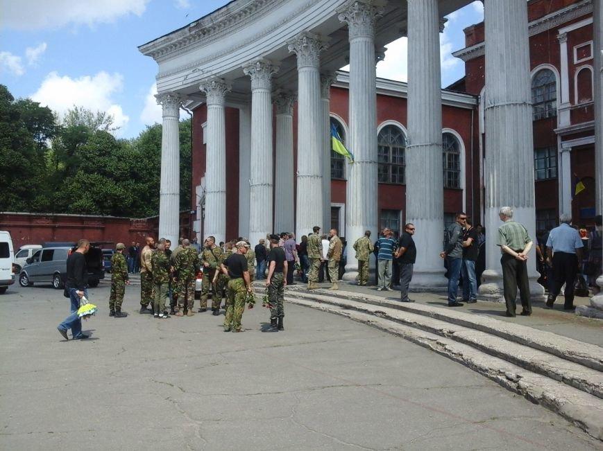 Сотни криворожан, став на колени, провели в последний путь бойца ДУКа Геннадия Дощенко (ФОТО), фото-4