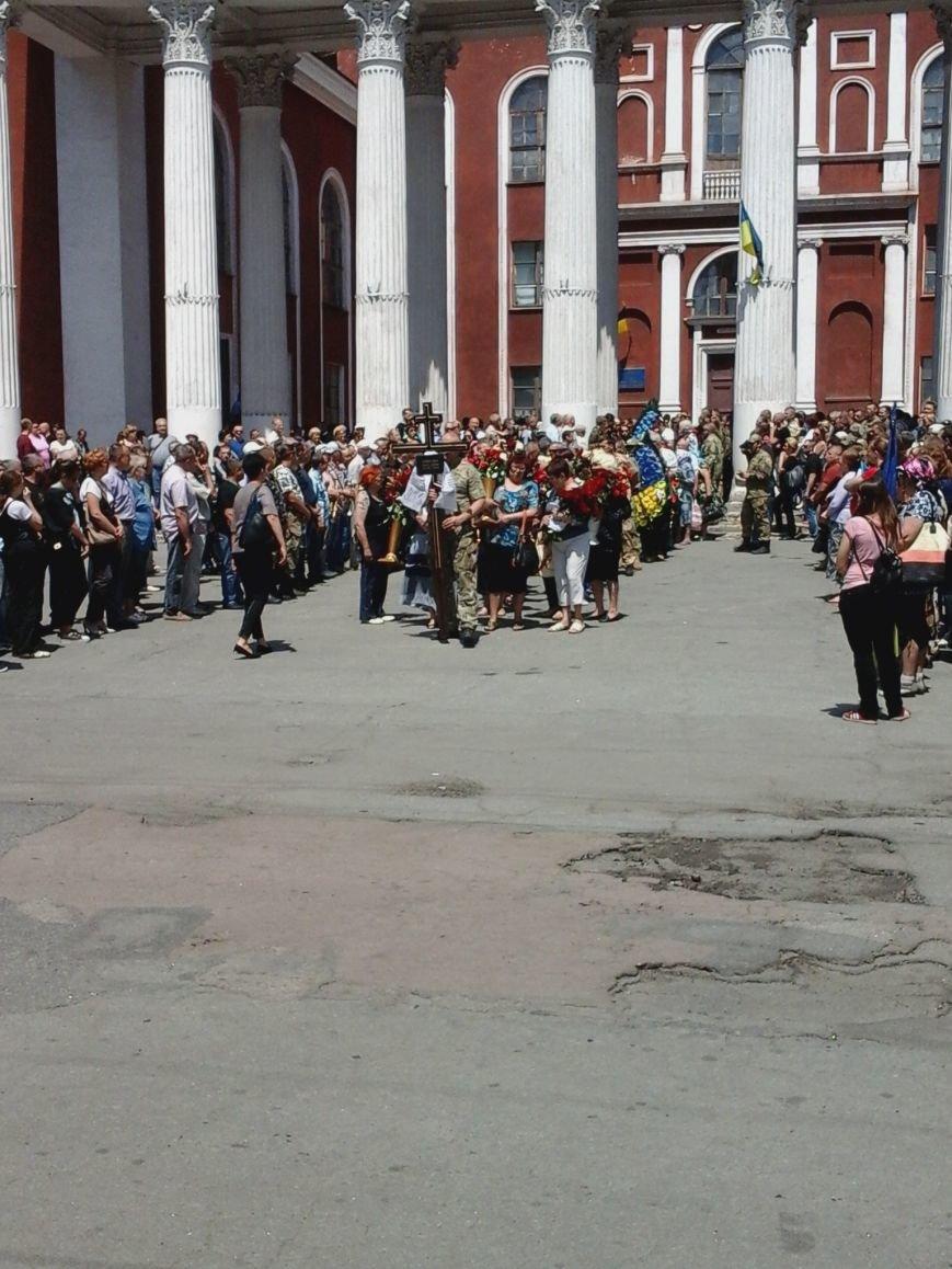 Сотни криворожан, став на колени, провели в последний путь бойца ДУКа Геннадия Дощенко (ФОТО), фото-31