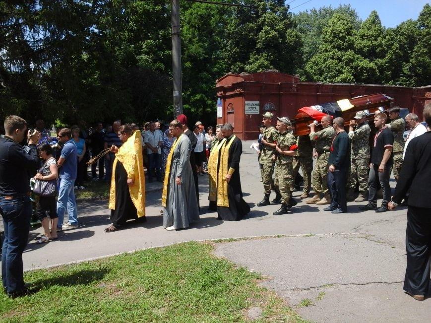 Сотни криворожан, став на колени, провели в последний путь бойца ДУКа Геннадия Дощенко (ФОТО), фото-55