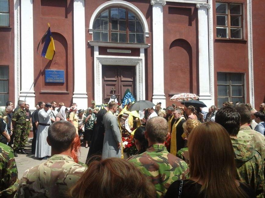 Сотни криворожан, став на колени, провели в последний путь бойца ДУКа Геннадия Дощенко (ФОТО), фото-21