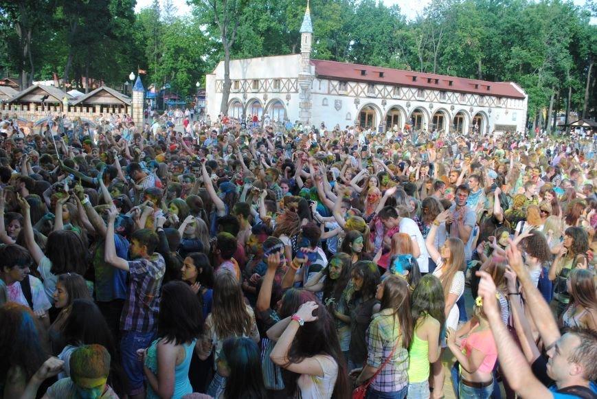 В парке Горького прошел фестиваль красок Холи (ФОТО), фото-2