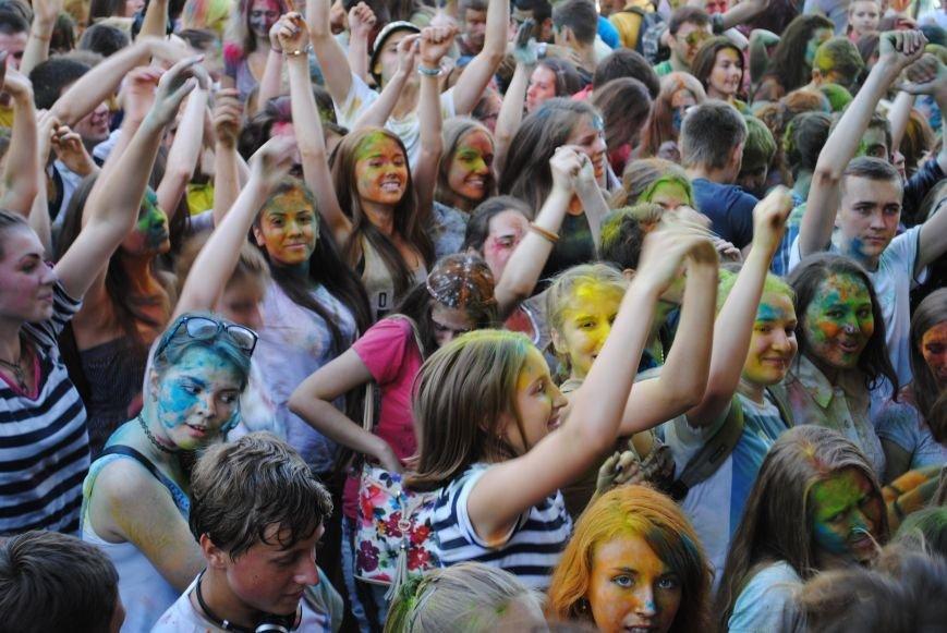 В парке Горького прошел фестиваль красок Холи (ФОТО), фото-6