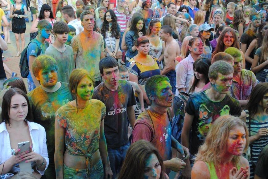 В парке Горького прошел фестиваль красок Холи (ФОТО), фото-10
