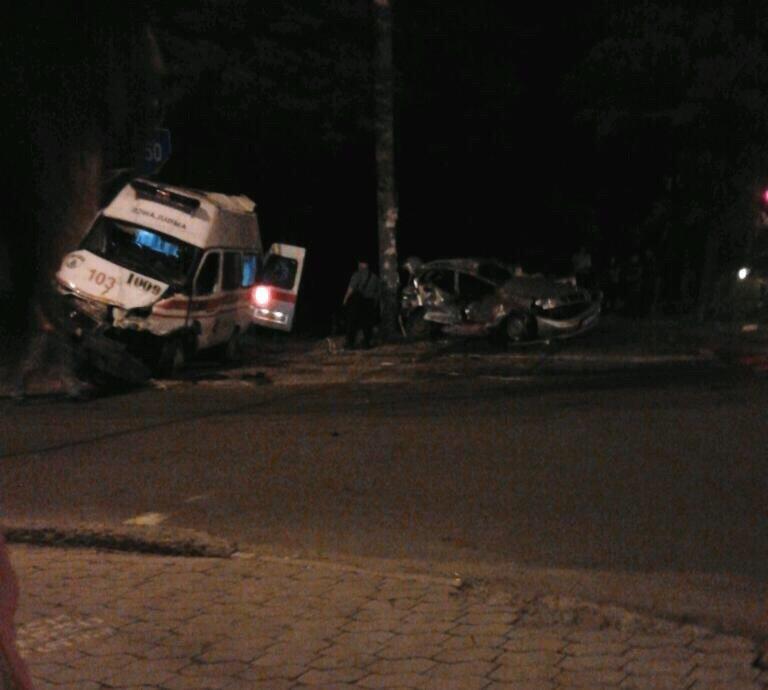 В Мариуполе бойцы «Азова» попали в ДТП (ФОТО) (фото) - фото 1