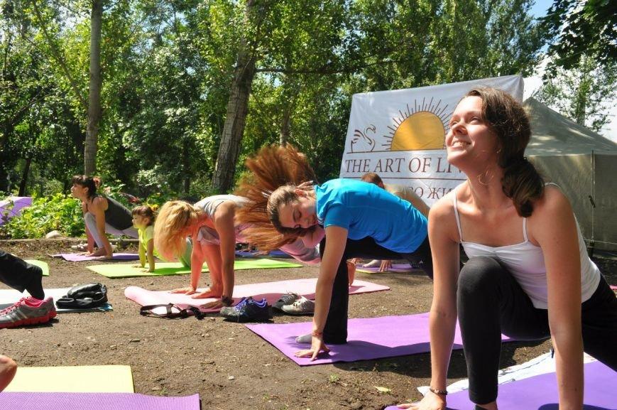 В Славянске отметили Международный День Йоги (фото) - фото 2