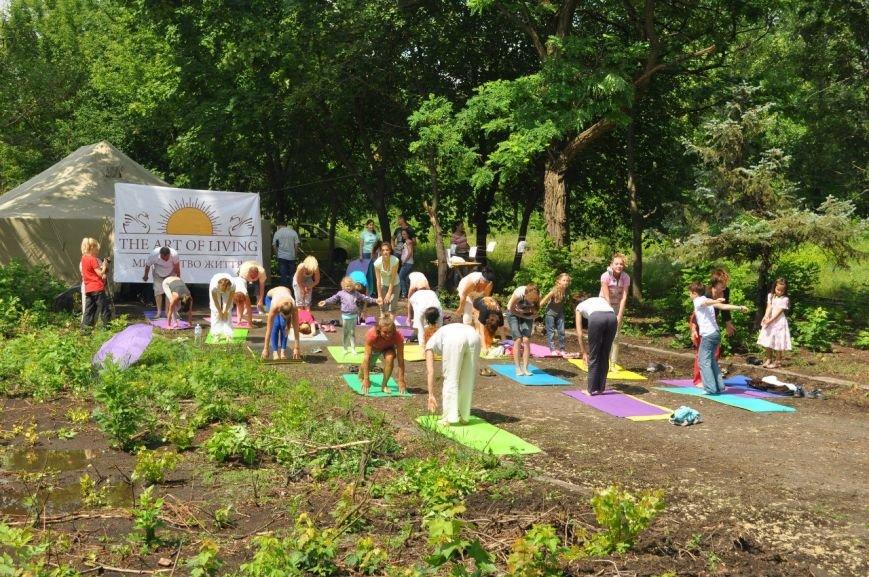 В Славянске отметили Международный День Йоги (фото) - фото 3