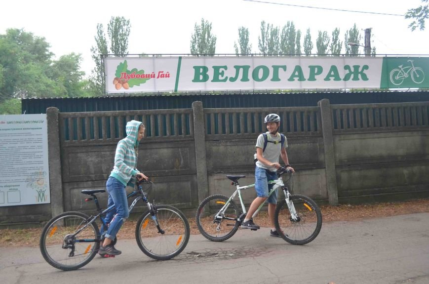В Запорожье появился первый в городе велосипедный гараж (ФОТО), фото-6