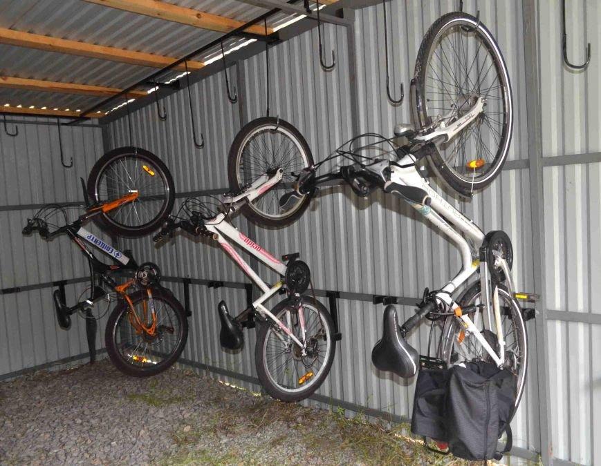 В Запорожье появился первый в городе велосипедный гараж (ФОТО), фото-4