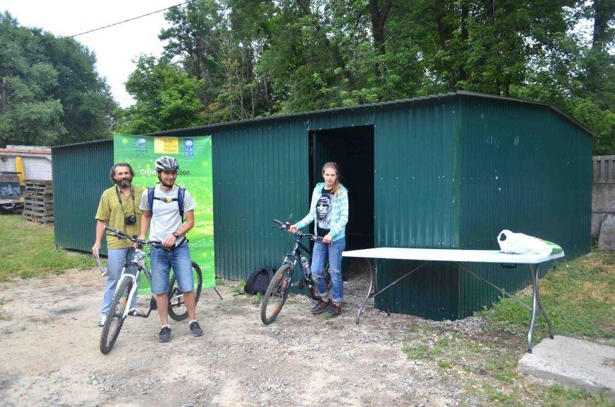 В Запорожье появился первый в городе велосипедный гараж (ФОТО), фото-2