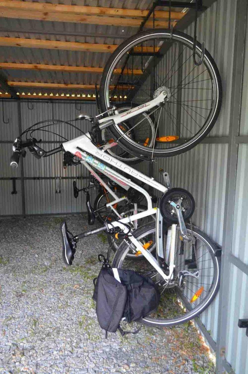 В Запорожье появился первый в городе велосипедный гараж (ФОТО), фото-1