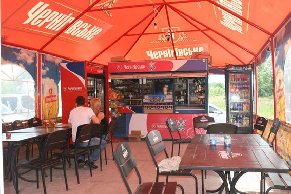 После милиции на черниговском пляже «Земснаряд» не осталось пива (фото) - фото 1