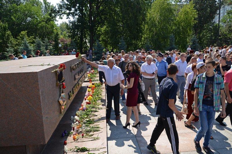 Николаевцы почтили память жертв  войны (ФОТО+ВИДЕО), фото-14