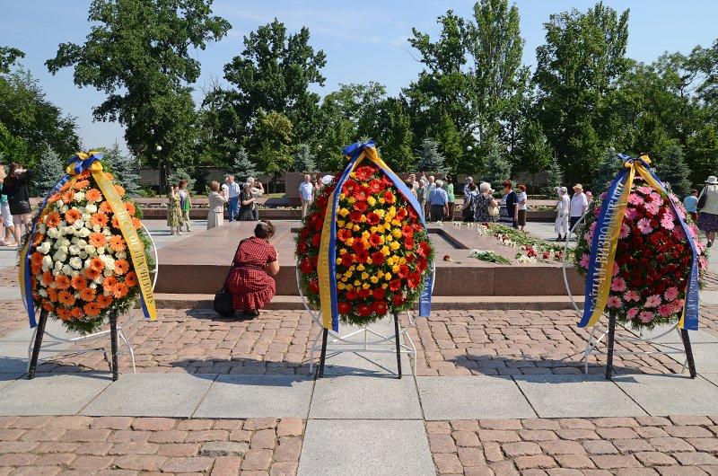 Николаевцы почтили память жертв  войны (ФОТО+ВИДЕО), фото-16