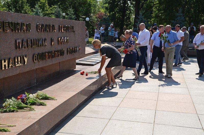 Николаевцы почтили память жертв  войны (ФОТО+ВИДЕО), фото-13