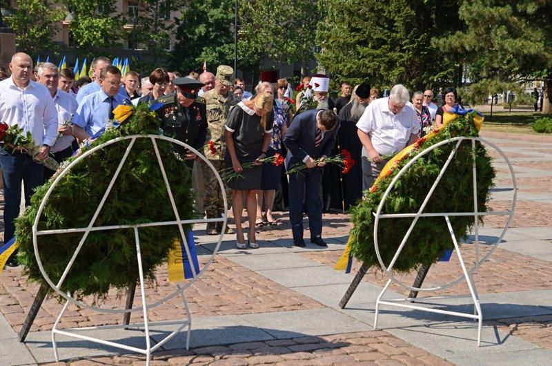 Николаевцы почтили память жертв  войны (ФОТО+ВИДЕО), фото-12