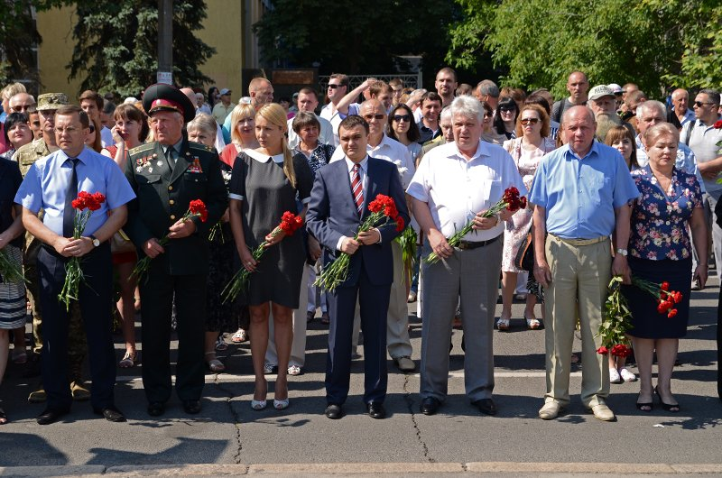 Николаевцы почтили память жертв  войны (ФОТО+ВИДЕО), фото-4