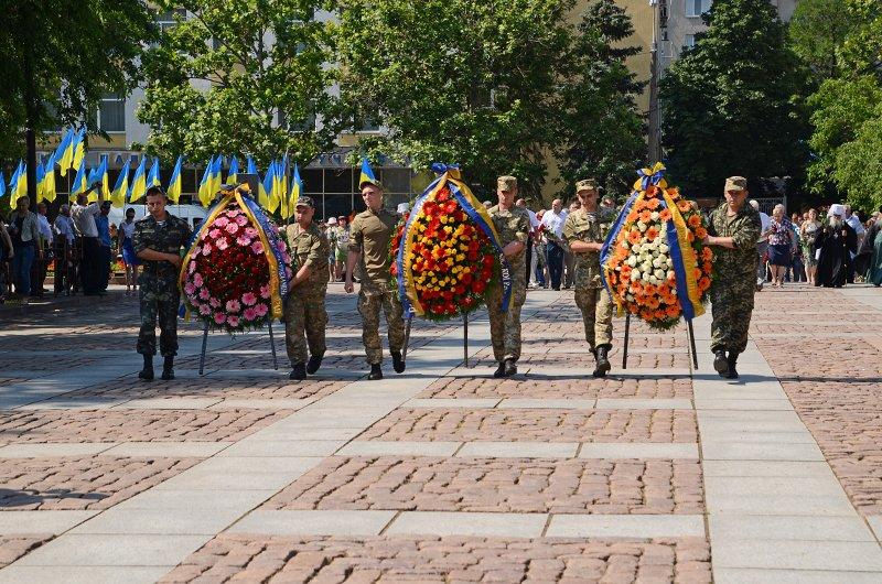 Николаевцы почтили память жертв  войны (ФОТО+ВИДЕО), фото-9