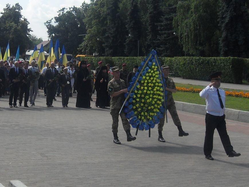 В Полтаві вшанували жертв війни в Україні. Фото (фото) - фото 1