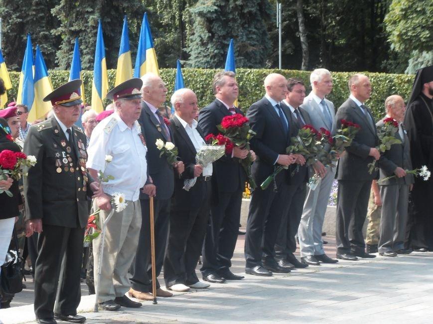 В Полтаві вшанували жертв війни в Україні. Фото (фото) - фото 3