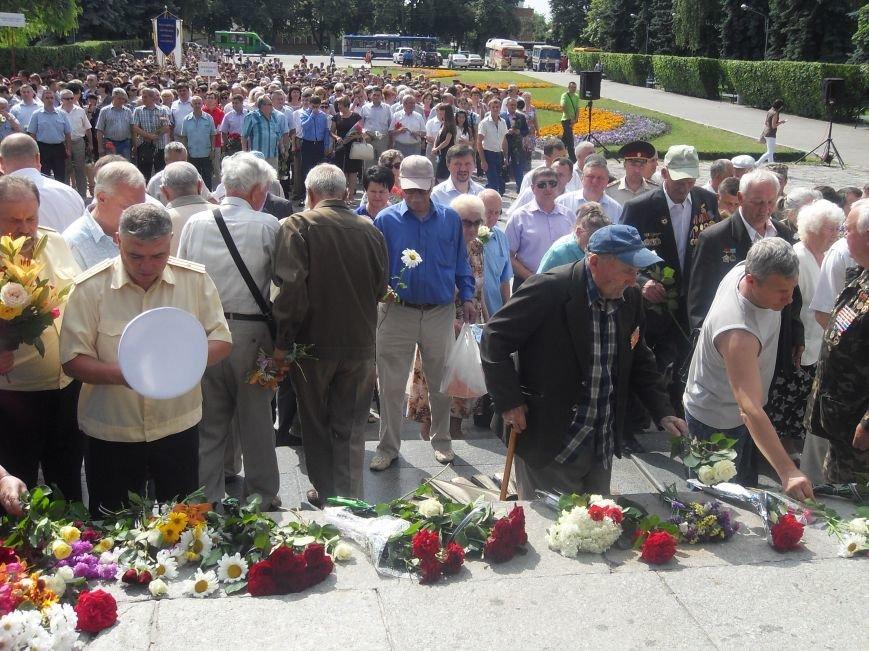 В Полтаві вшанували жертв війни в Україні. Фото (фото) - фото 12